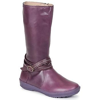 Pantofi Fete Cizme casual Garvalin TARDA Mov