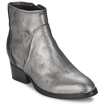 Pantofi Femei Botine Catarina Martins METAL DAVE Argintiu