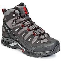 Pantofi Bărbați Drumetie și trekking Salomon QUEST PRIME GTX® Gri / Negru / Roșu