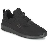 Încăltăminte Bărbați Pantofi sport Casual DC Shoes HEATHROW M SHOE 3BK Negru