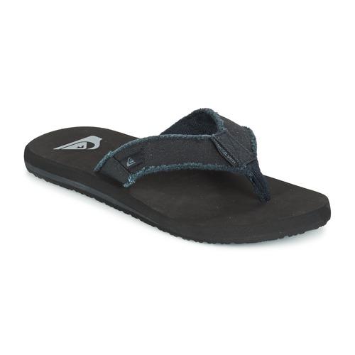 Pantofi Bărbați  Flip-Flops Quiksilver MONKEY ABYSS M SNDL XKKC Negru