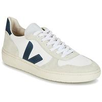 Încăltăminte Pantofi sport Casual Veja V-10 Alb / Albastru
