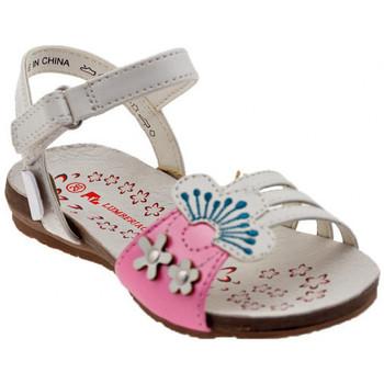 Pantofi Fete Sandale  Lumberjack  Alb