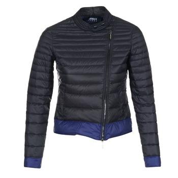 Îmbracaminte Femei Geci Armani jeans BEAUJADO Negru / Albastru