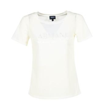 Îmbracaminte Femei Tricouri mânecă scurtă Armani jeans KAJOLA Alb