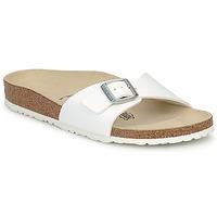 Pantofi Femei Papuci de vară Birkenstock MADRID Alb / Mat