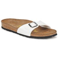 Pantofi Femei Papuci de vară Birkenstock MADRID Alb / Sidef