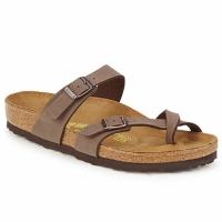 Pantofi Femei Papuci de vară Birkenstock MAYARI Cafea