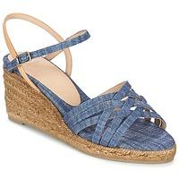 Pantofi Femei Sandale și Sandale cu talpă  joasă Castaner BETSY Albastru / Bej