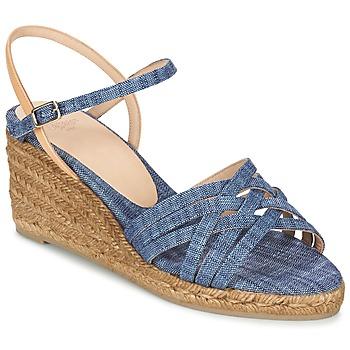 Pantofi Femei Sandale  Castaner BETSY Albastru / Bej