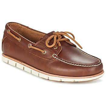 Încăltăminte Bărbați Pantofi barcă Timberland TIDELANDS 2 EYE Maro