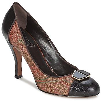 Încăltăminte Femei Pantofi cu toc Etro 3074 Maro