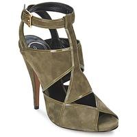 Pantofi Femei Sandale și Sandale cu talpă  joasă Etro 3025 Kaki