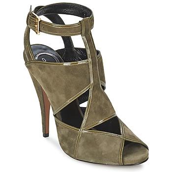 Încăltăminte Femei Sandale și Sandale cu talpă  joasă Etro 3025 Kaki