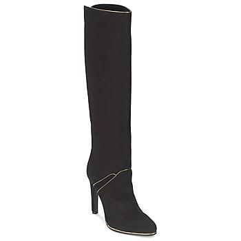 Pantofi Femei Cizme casual Etro 3119 Negru / Auriu