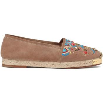 Pantofi Femei Espadrile Giuseppe Zanotti E66084 CAPPUCCINO Marrone chiaro