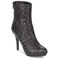 Pantofi Femei Botine Versace MARGHERITA Negru