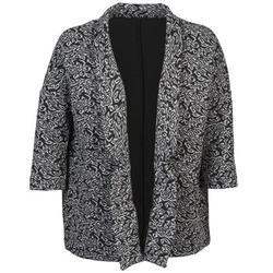 Îmbracaminte Femei Sacouri și Blazere Sisley FRANDA Negru / Gri
