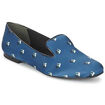 Pantofi Femei Balerin și Balerini cu curea Kenzo 2SL110 Albastru / Bleumarin