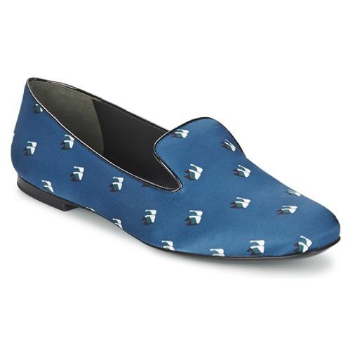 Pantofi Femei Balerin și Balerini cu curea Kenzo 2SL110 Albastru / Albastru