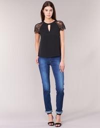 Îmbracaminte Femei Jeans drepti Lee MARION STRAIGHT Albastru / Medium