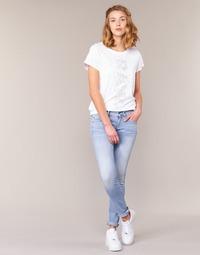 Îmbracaminte Femei Jeans skinny G-Star Raw LYNN MID SKINNY Albastru / LuminoasĂ
