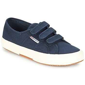 Pantofi Pantofi sport Casual Superga 2750 COT3 VEL U Bleumarin