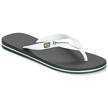 Pantofi Bărbați  Flip-Flops Ipanema CLASSICA BRASIL II Negru / Alb