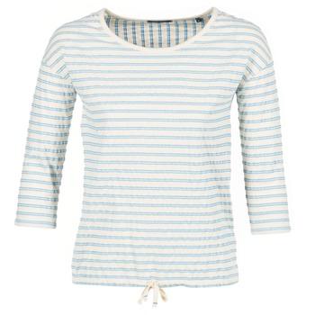Îmbracaminte Femei Topuri și Bluze Marc O'Polo GRASSIRCO Alb / Albastru