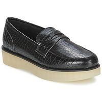 Pantofi Femei Mocasini F-Troupe Penny Loafer Black