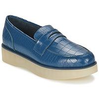 Pantofi Femei Mocasini F-Troupe Penny Loafer Navy