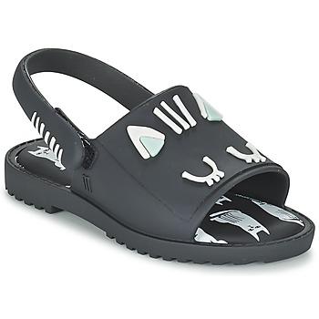 Pantofi Fete Sandale  Melissa MIA FABULA Negru
