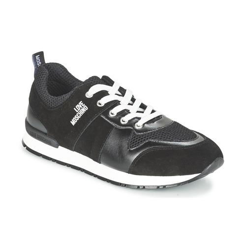 Pantofi Femei Pantofi sport Casual Love Moschino JA15062G13 Negru