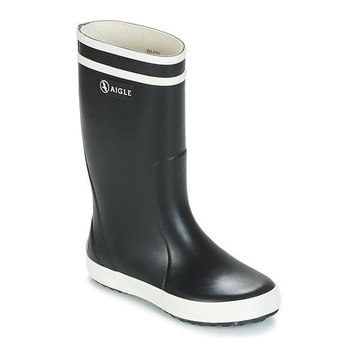 Pantofi Copii Cizme de ploaie Aigle LOLLY POP Bleumarin / Alb