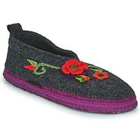 Pantofi Femei Papuci de casă Giesswein TANGERHÜETTE Antracit