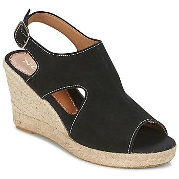 Încăltăminte Femei Sandale și Sandale cu talpă  joasă Nome Footwear DESTIF Negru