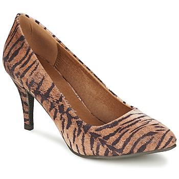Pantofi Femei Pantofi cu toc Moony Mood LENI Tigru