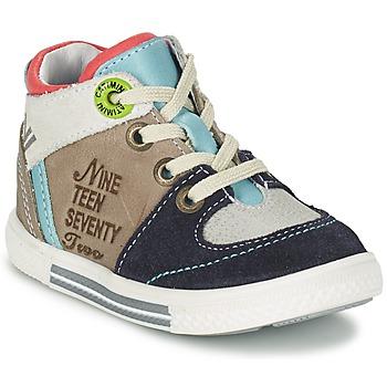 Pantofi Băieți Pantofi sport stil gheata Catimini PIMENT Gri / Turcoaz