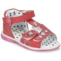 Încăltăminte Fete Sandale și Sandale cu talpă  joasă Catimini PUCE Roz
