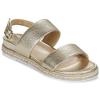 Pantofi Femei Sandale și Sandale cu talpă  joasă Dune London LACROSSE Auriu