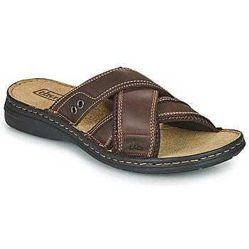 Pantofi Bărbați Papuci de vară TBS BENAIX Maro