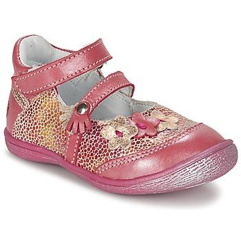 Pantofi Fete Balerin și Balerini cu curea GBB PIA Roz
