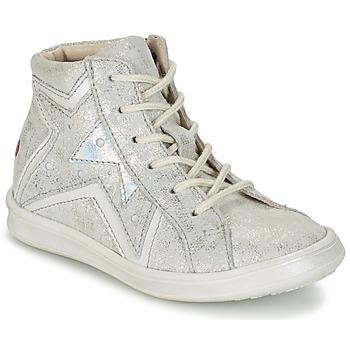 Pantofi Fete Pantofi sport stil gheata GBB PRUNELLA Gri / Argintiu