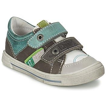 Pantofi Băieți Pantofi sport Casual GBB PHIL Vtu / Alb-verde / Dpf / Snow