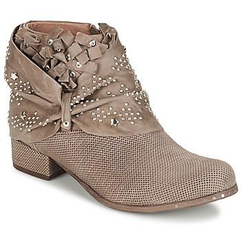 Pantofi Femei Ghete Mimmu STROPFA Taupe