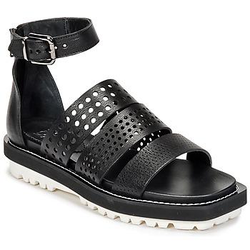 Încăltăminte Femei Sandale și Sandale cu talpă  joasă Now PADOU Negru