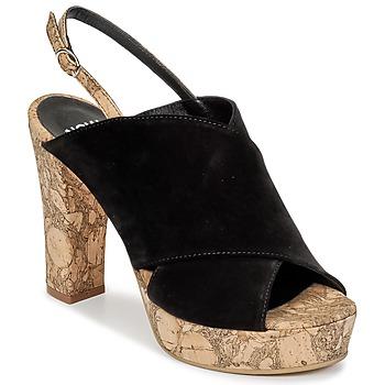 Pantofi Femei Saboti Now PAPIRON Negru