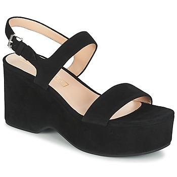 Pantofi Femei Sandale  Marc Jacobs LILLYS WEDGE Negru