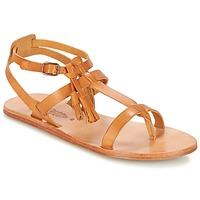 Pantofi Femei Sandale și Sandale cu talpă  joasă n.d.c. SORAYA Camel