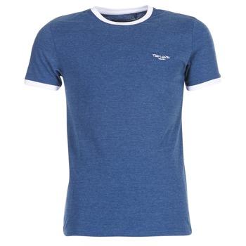 Îmbracaminte Bărbați Tricouri mânecă scurtă Teddy Smith THE TEE Albastru